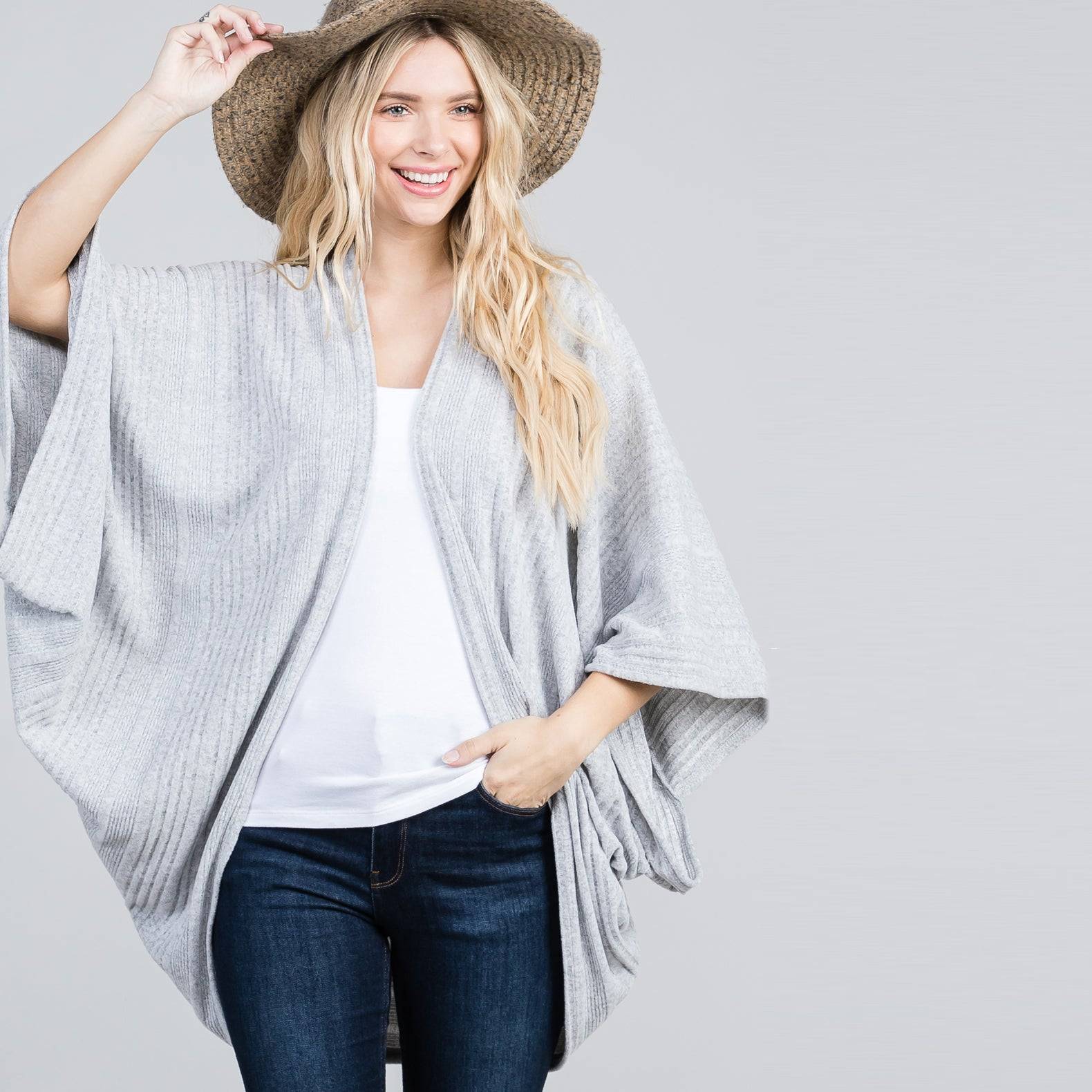 Variegated Ultra Soft  Cardigan
