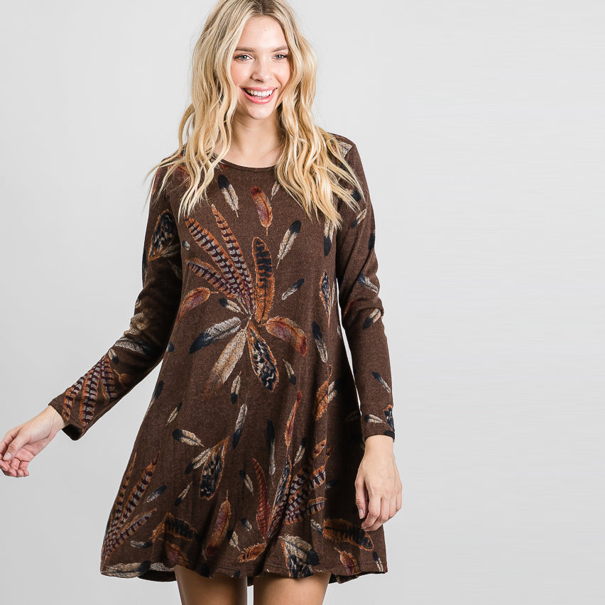 Feathered Galore Dress