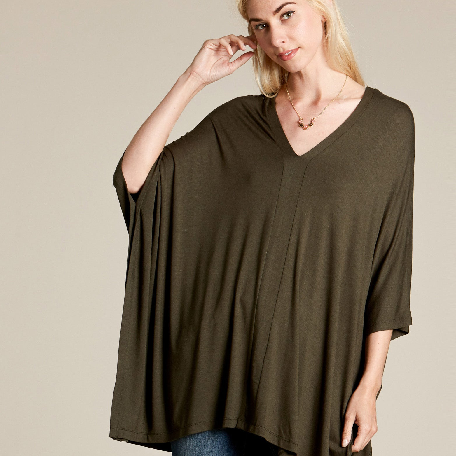 Not Too Oversized Tunic Top