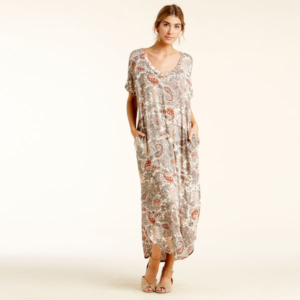 RL Paisley Retreat Maxi Dress