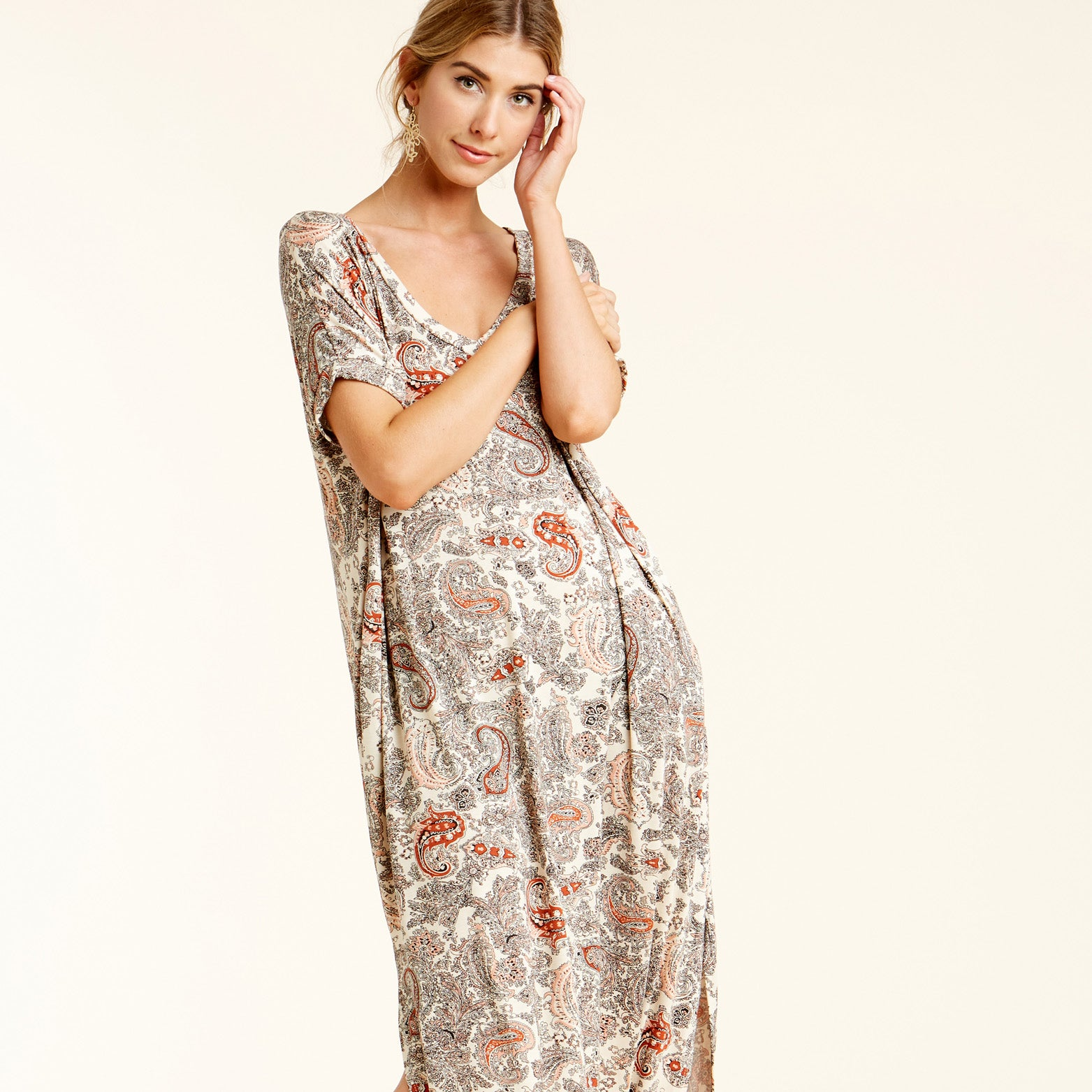 RL Paisley Retreat Maxi Dress - Love, Kuza