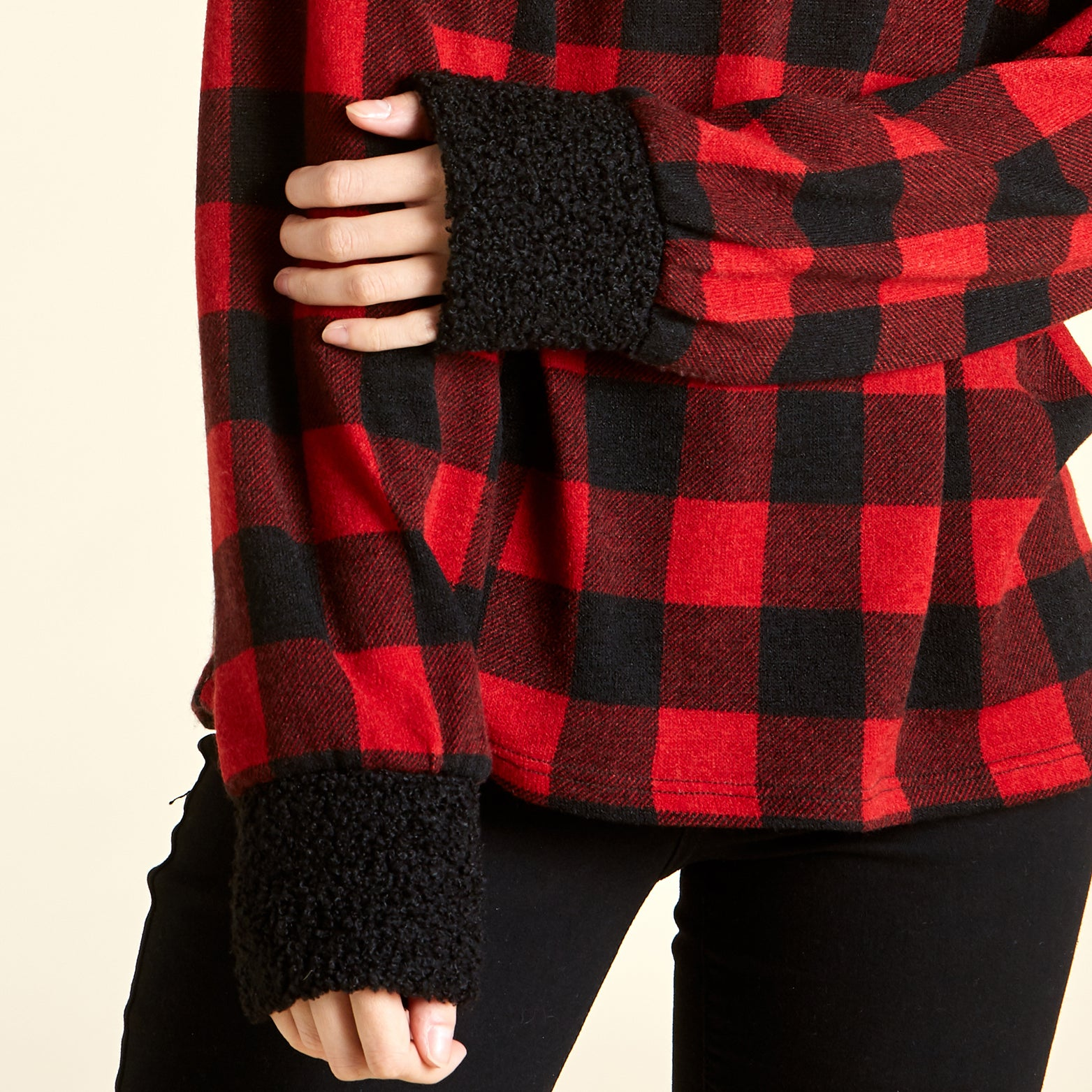 Cozy Plaid Sweater