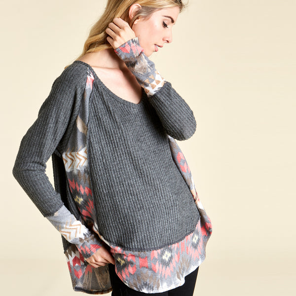 Sun Dance Thermal Sweater