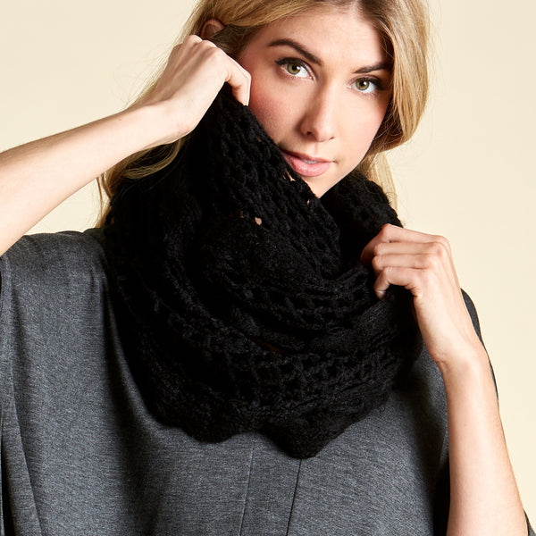 Granny's Love Knit Infinity Scarf