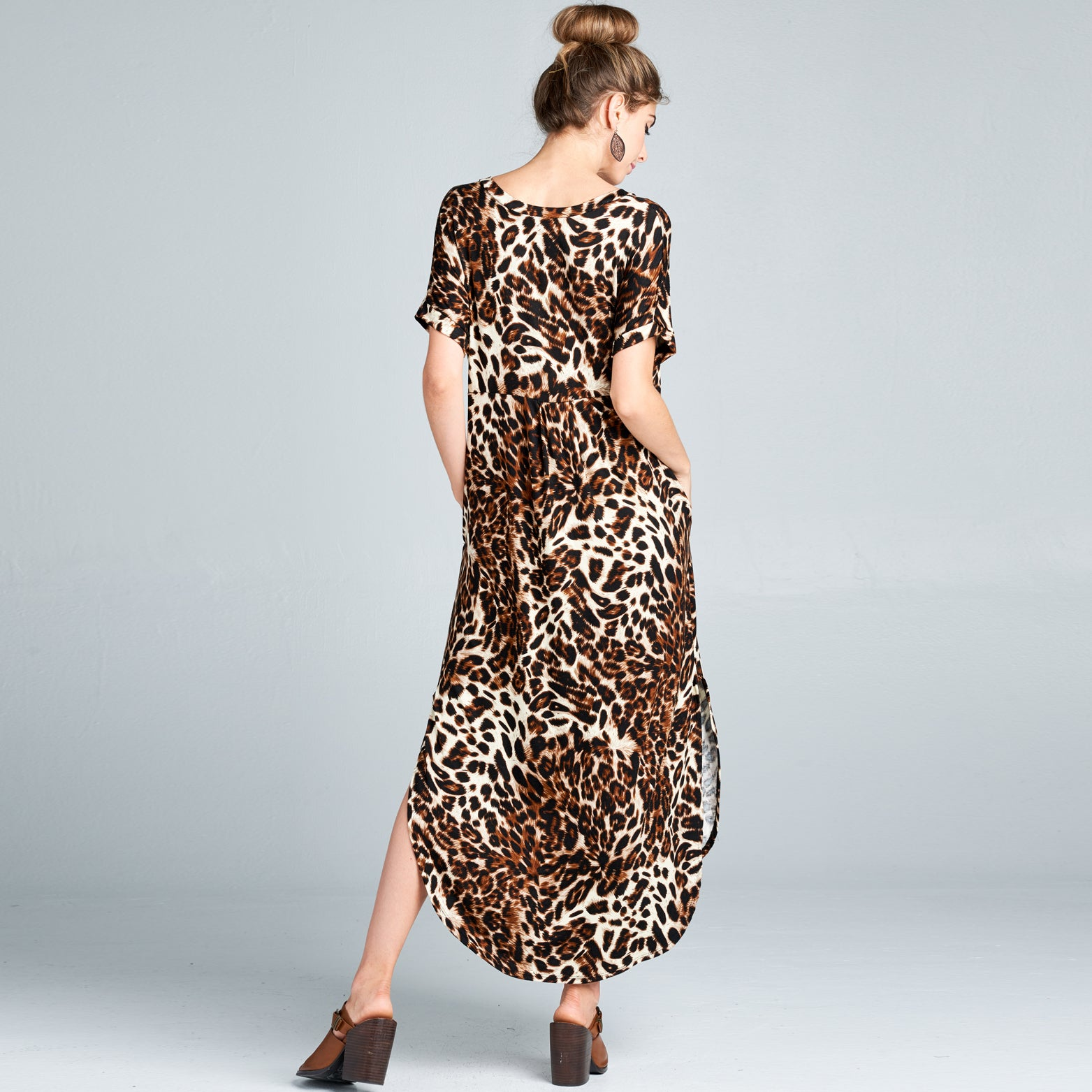 RL Leopard Maxi Dress