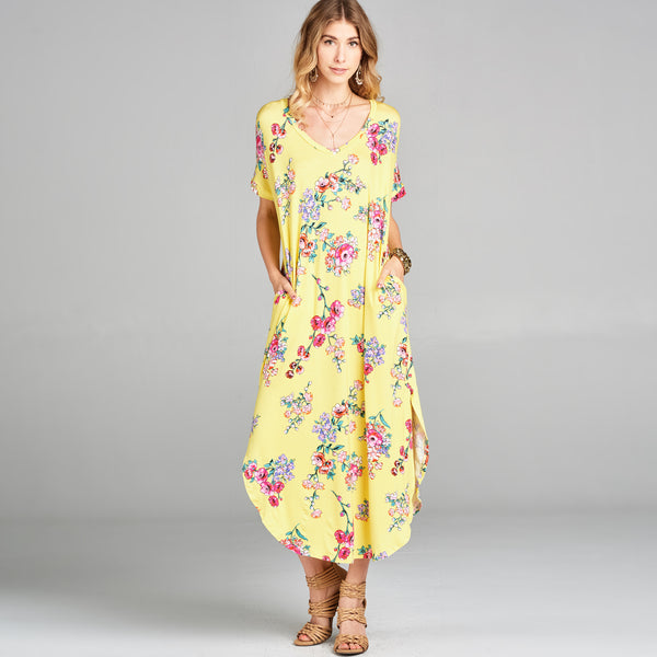 RL Sunny Floral Maxi Dress