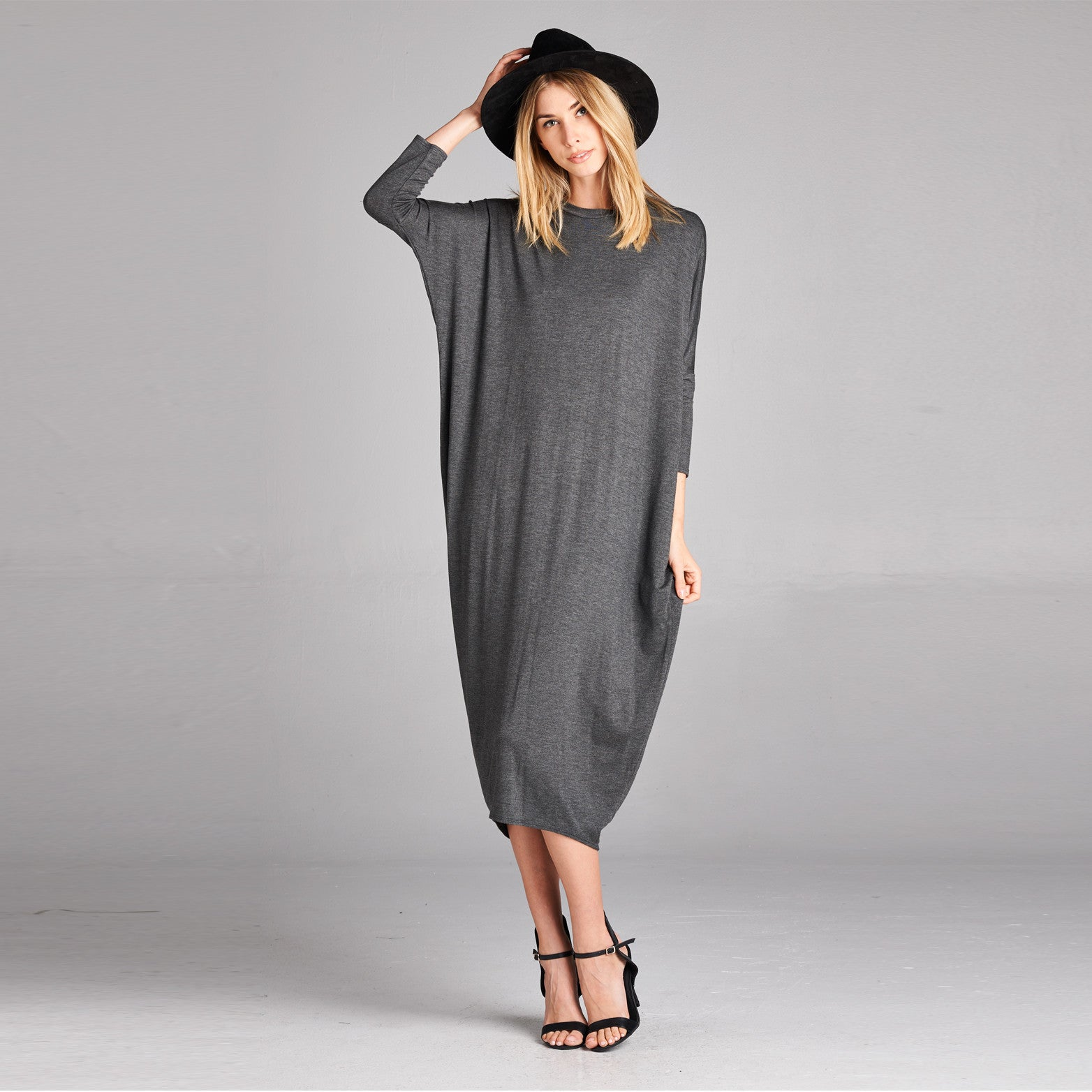 Dolman Midi Dress