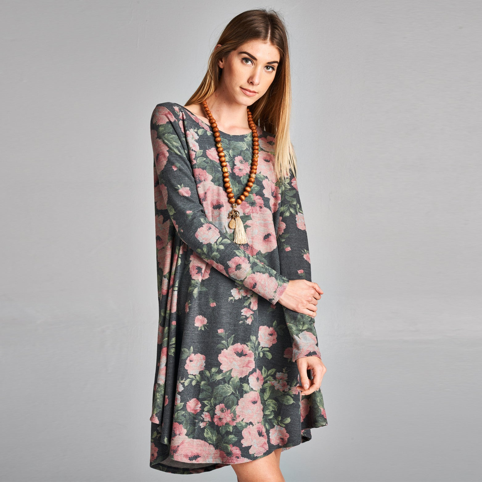 Rosey Everyday Swing Dress