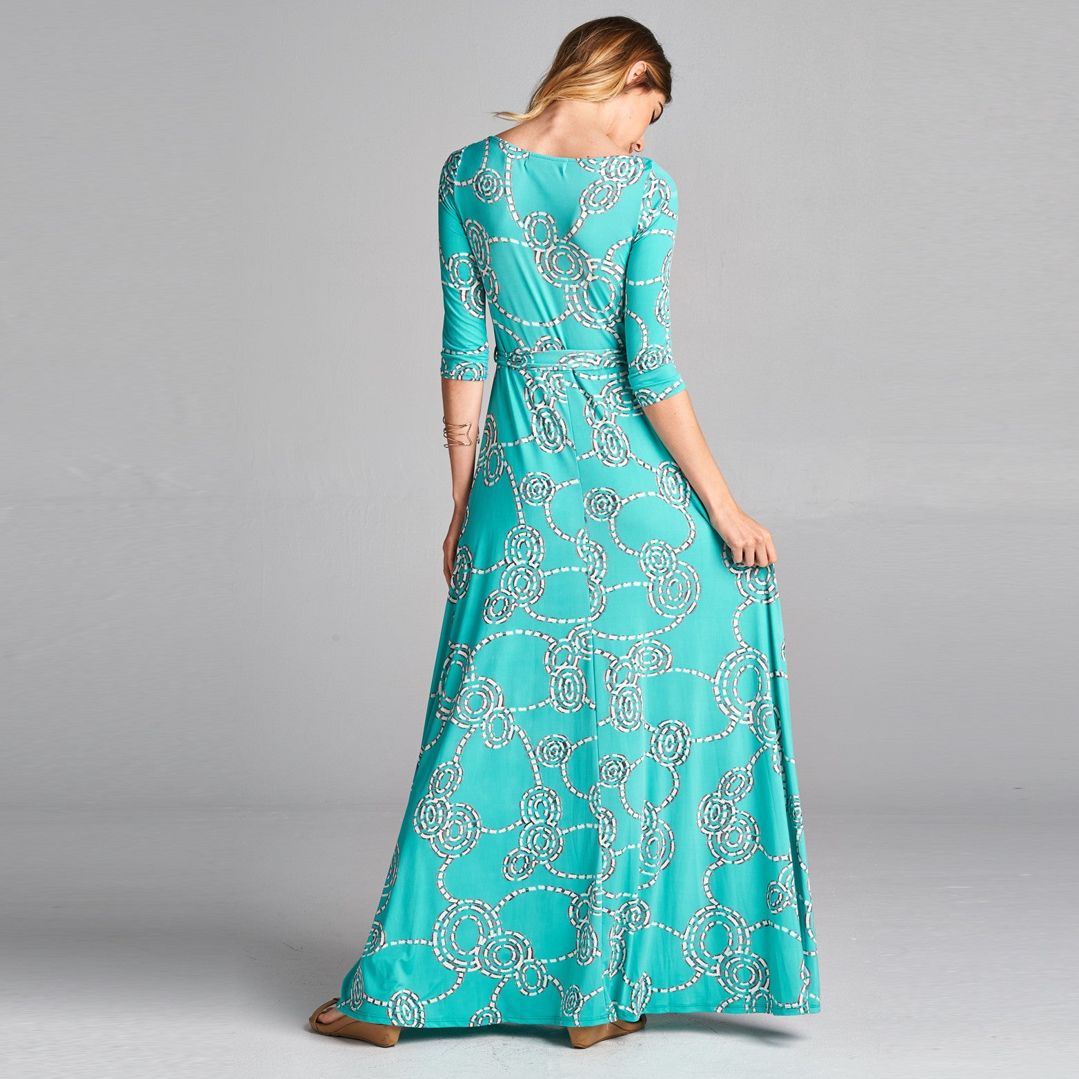 Aqua Venechia Wrap Dress