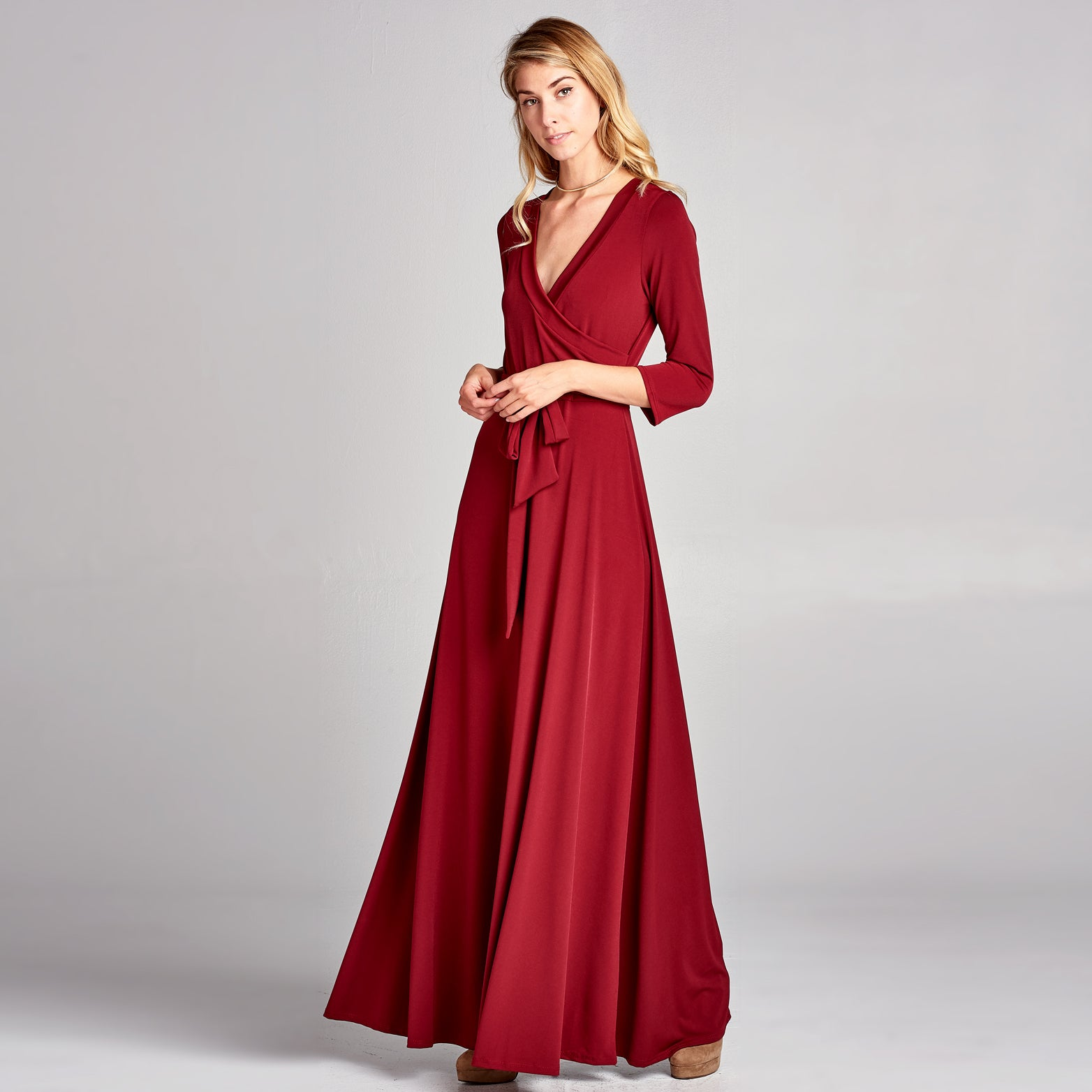Sweetheart Venechia Wrap Dress