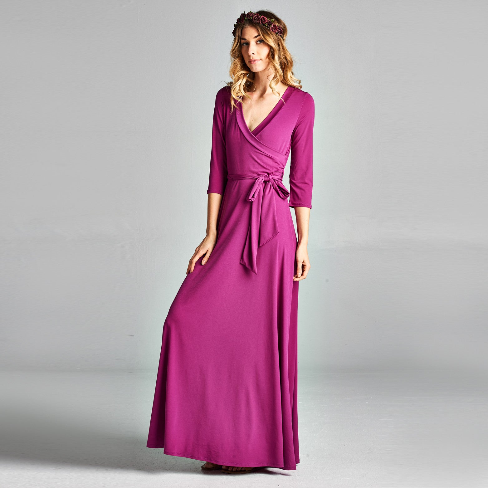 Sweetheart Venechia Wrap Dress - Love, Kuza