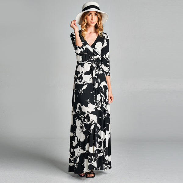 Poppy Venechia Wrap Dress - Love, Kuza