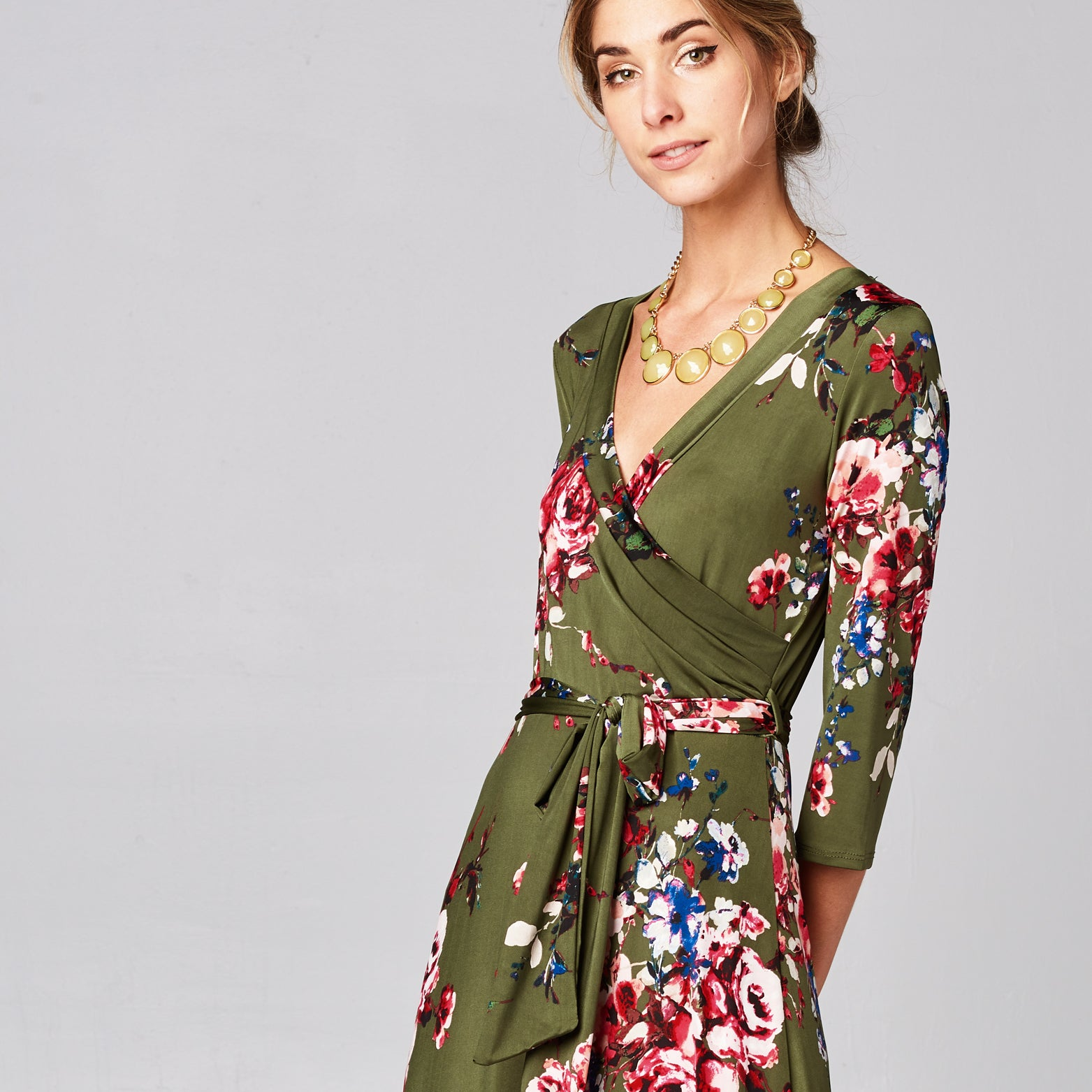 Olive Rose Venechia Wrap Dress