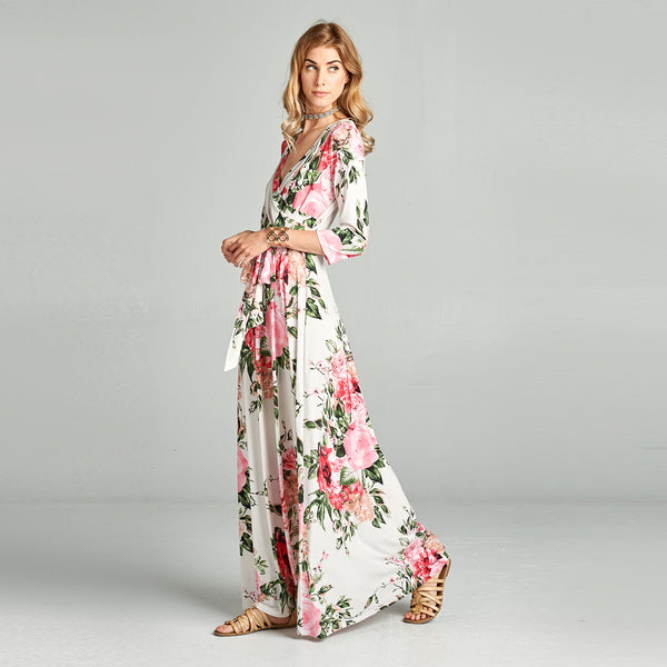 Rose Garden Venechia Wrap Dress