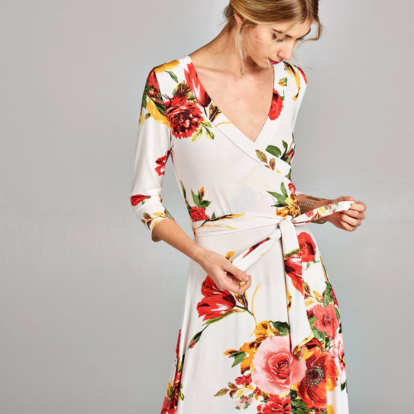 Lady Floral Venechia Maxi Dress