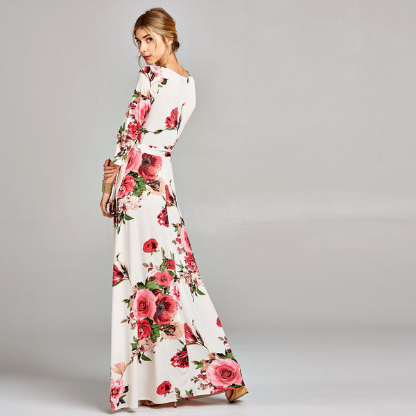 Lady Floral Venechia Wrap Dress
