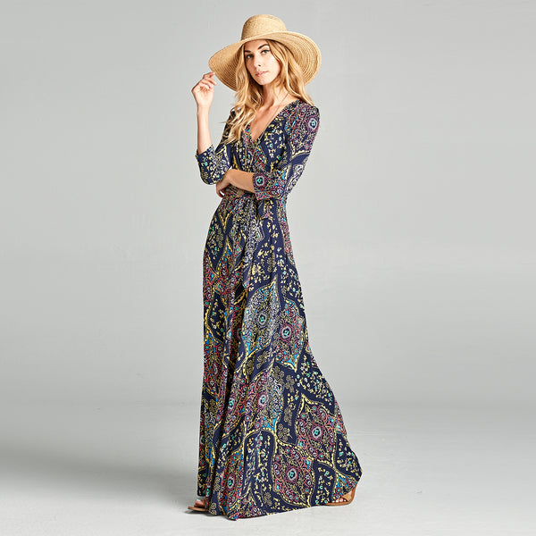 Mandala Venechia Wrap Dress