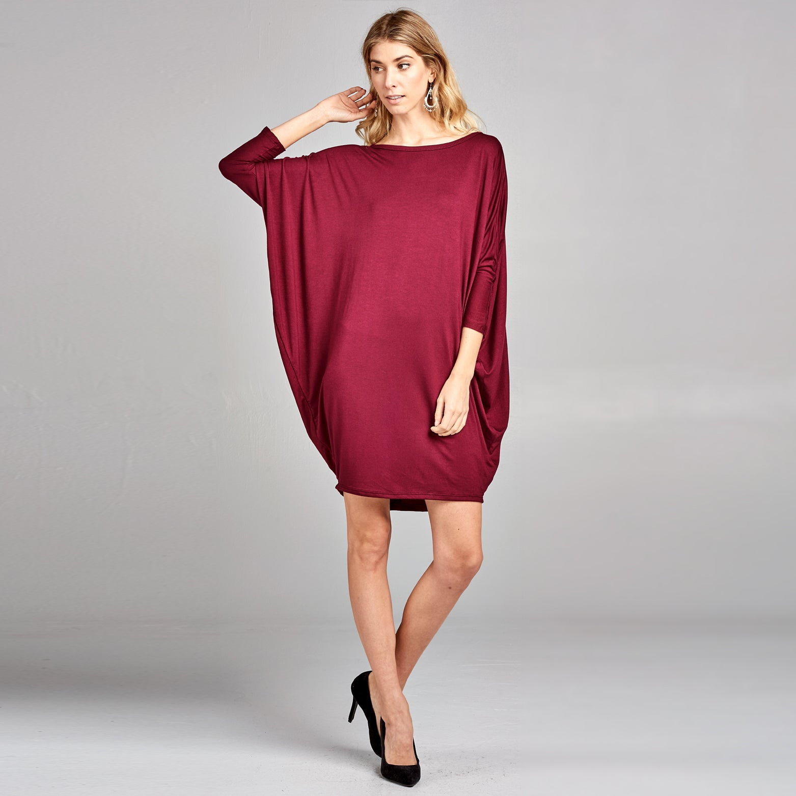 Dolman Cocoon Dress