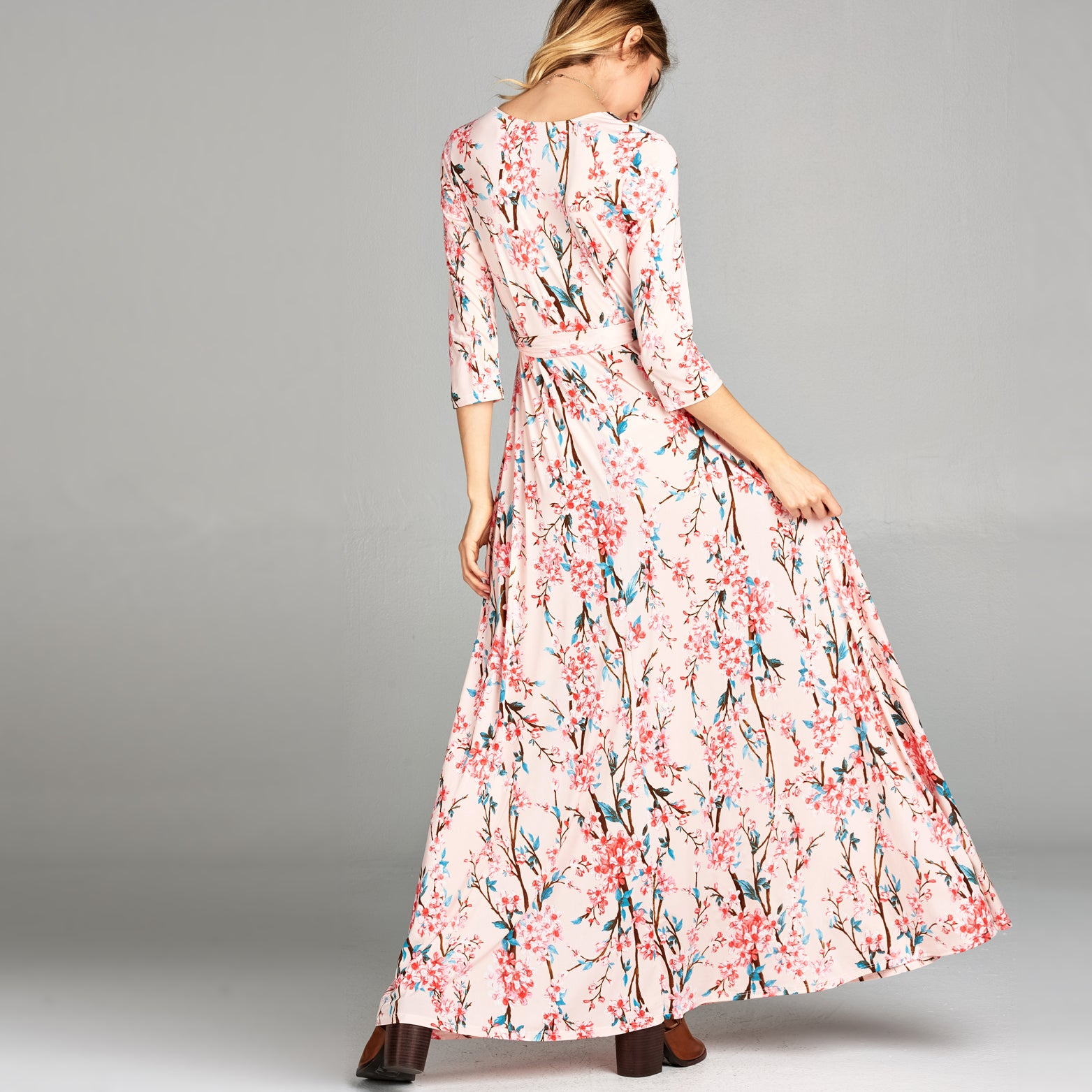 Cherry Blossom Venechia Wrap Dress