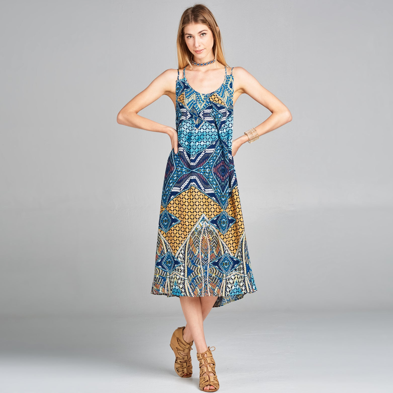 Vintage Tribal Sundress