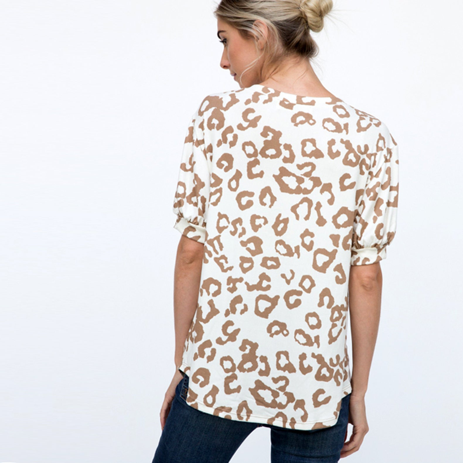 Easy Animal Print Top