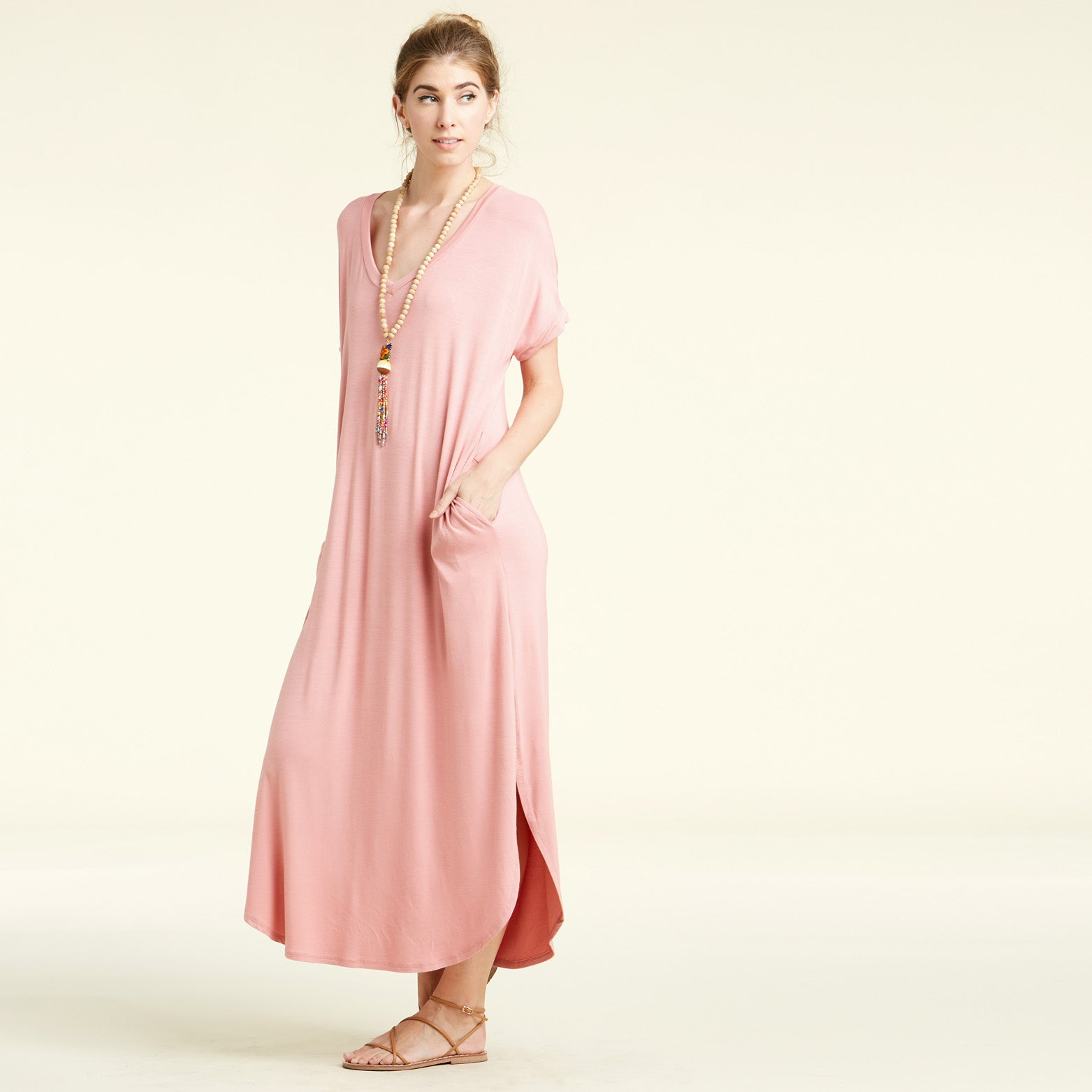 RL Mauve Maxi Dress - Love, Kuza