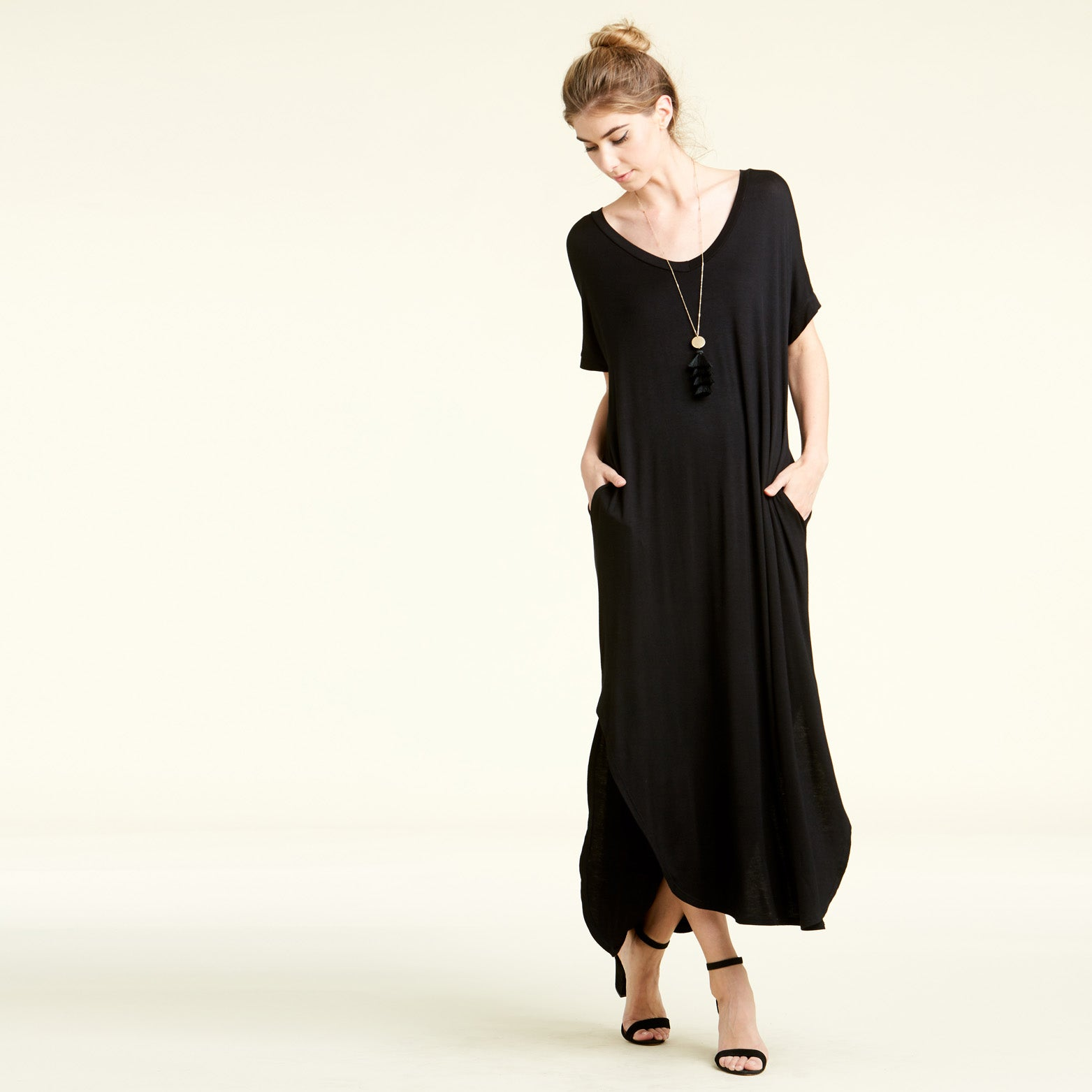 RL Black Maxi Dress - Love, Kuza