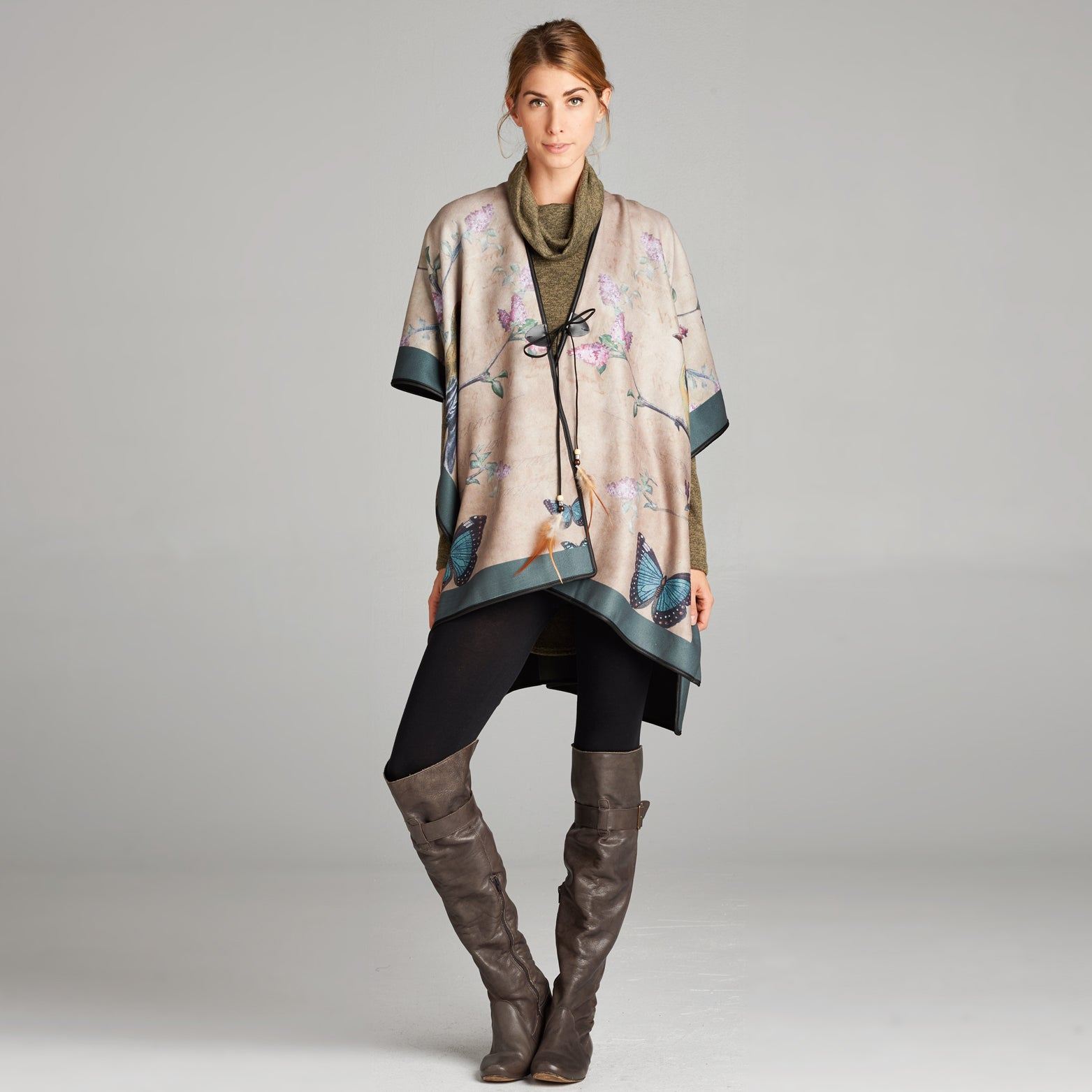 Bird of Paradise Poncho
