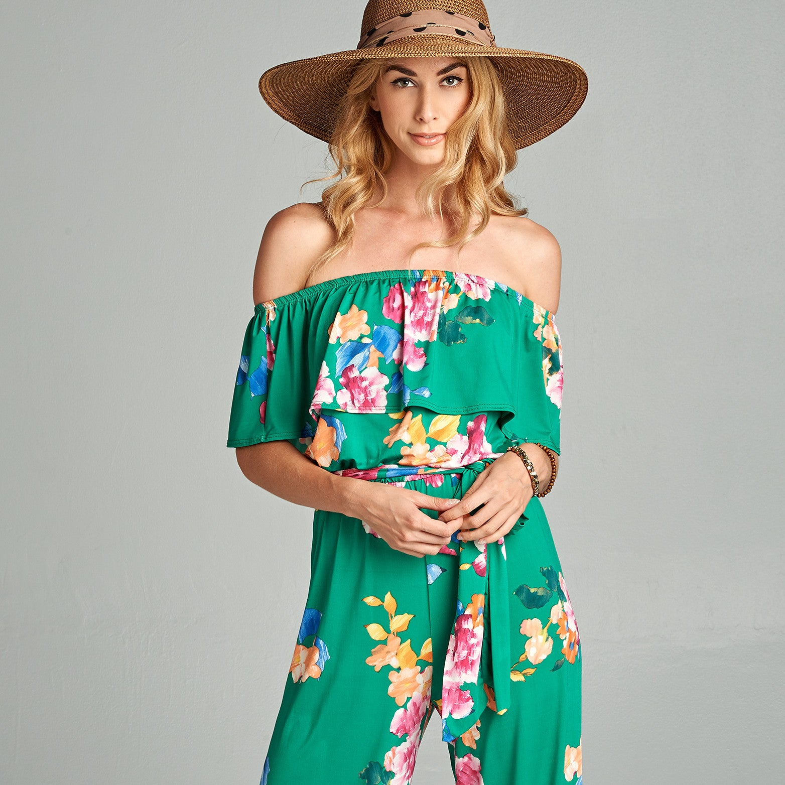 Sweet Floral Jumpsuit