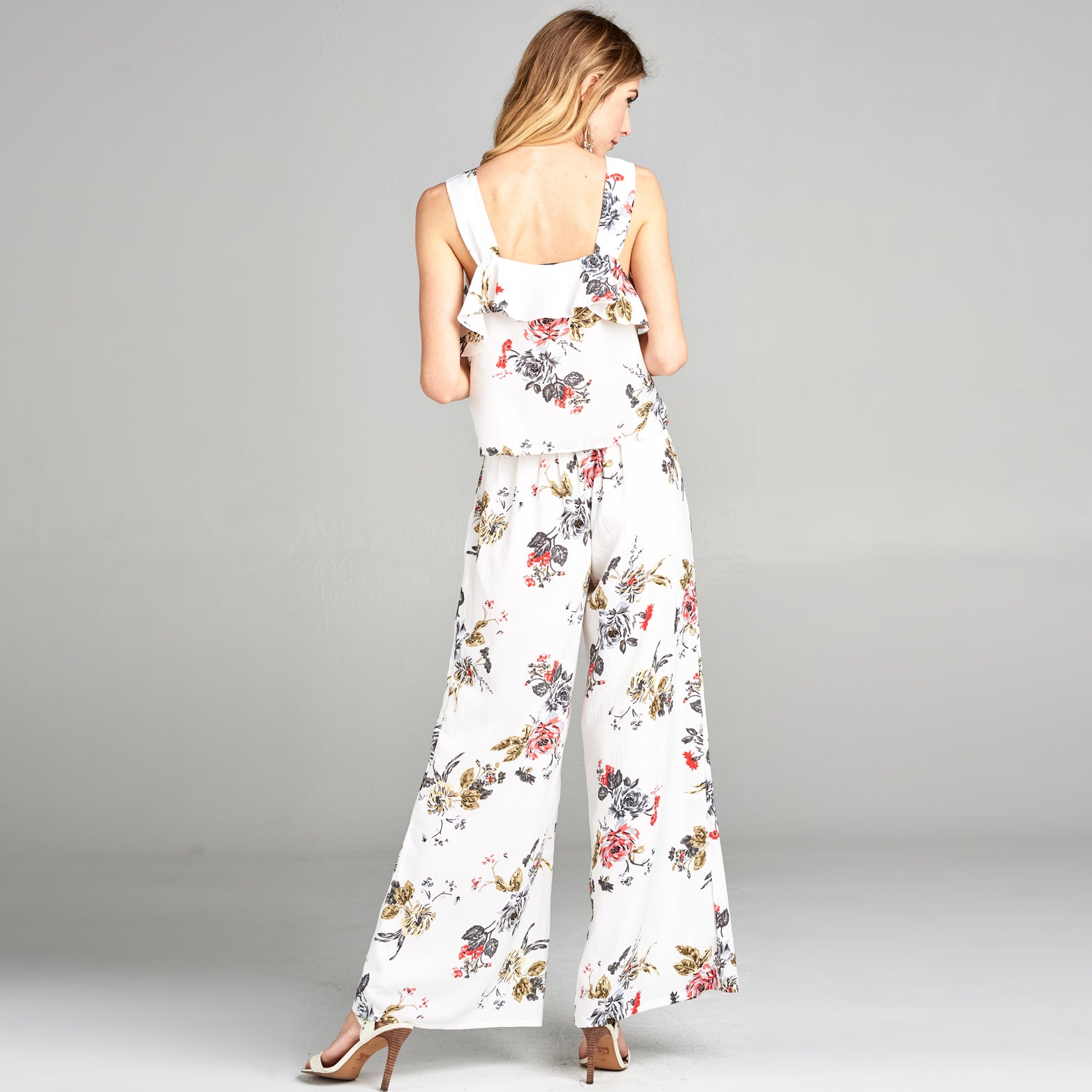 Penny Floral Two-Piece Set