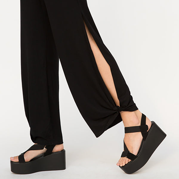 Full Comfort Side Slit Pants