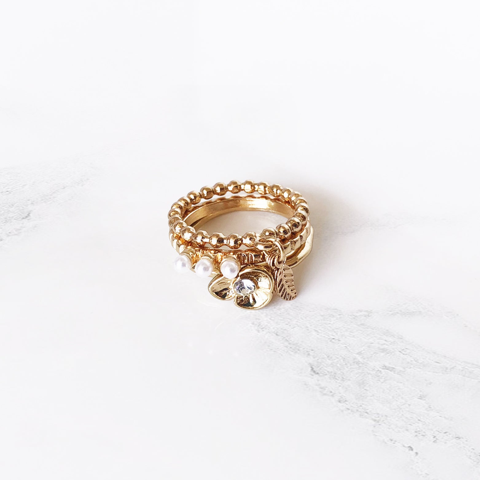 Royal Nature Stacking Ring Set