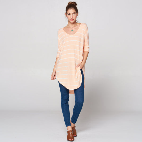 Ultra Soft Striped Tunic