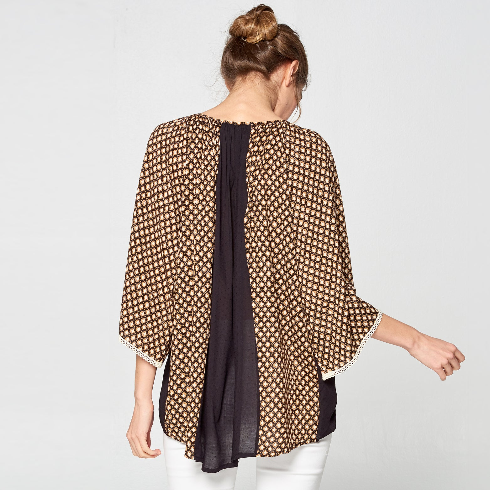 Honey Block Boho Top - Love, Kuza