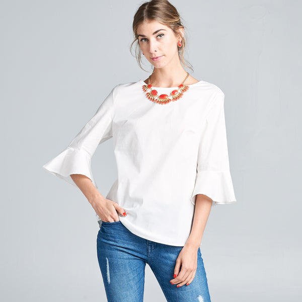 Retro Cut Solid Top