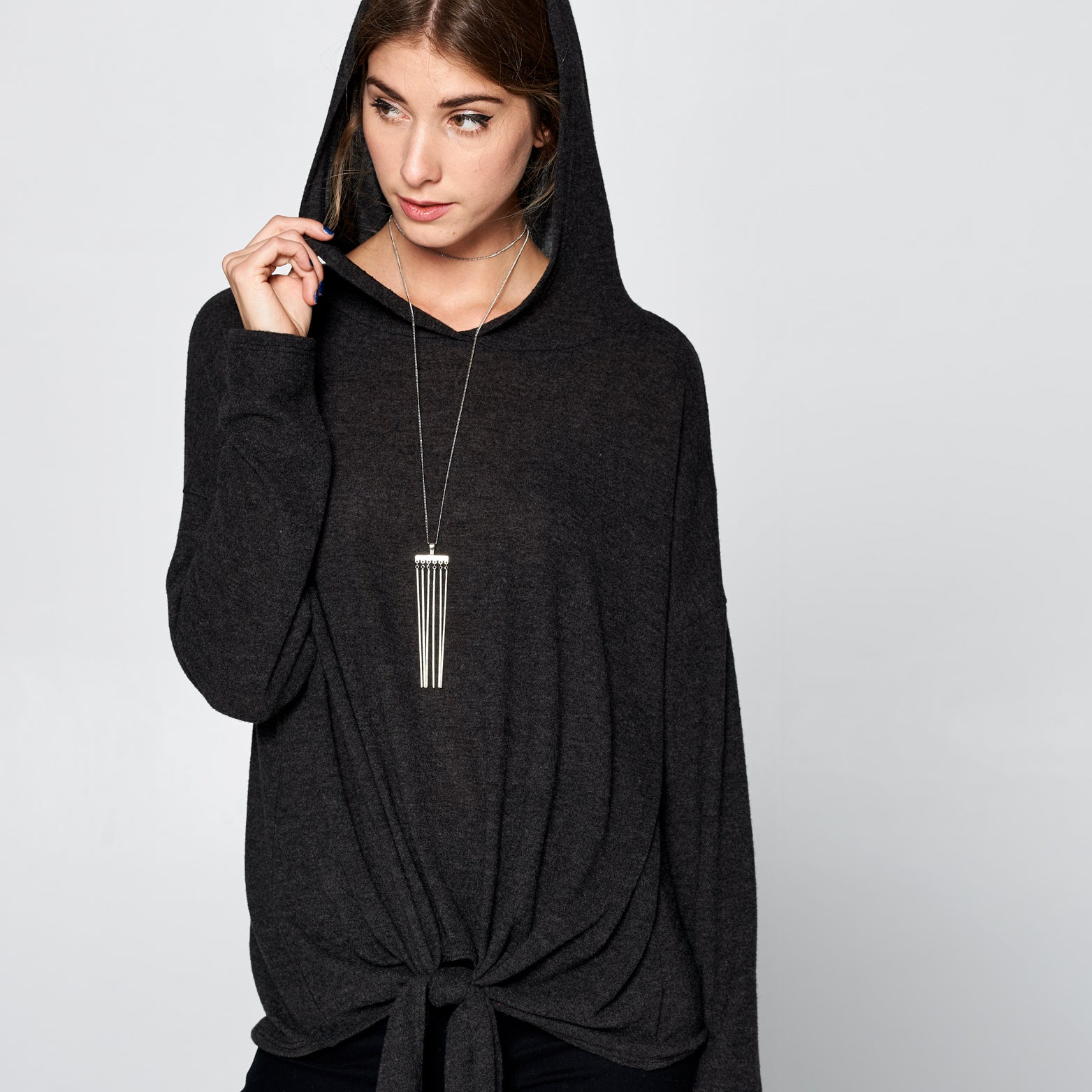 Ultra Soft Hooded Sweater