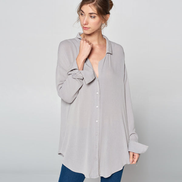 Button-Up Flowy Top
