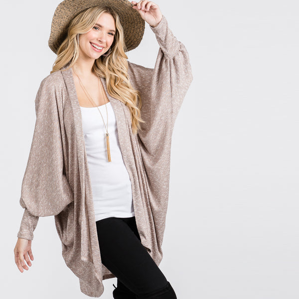 Antoinette Bubble Sleeve Cardigan