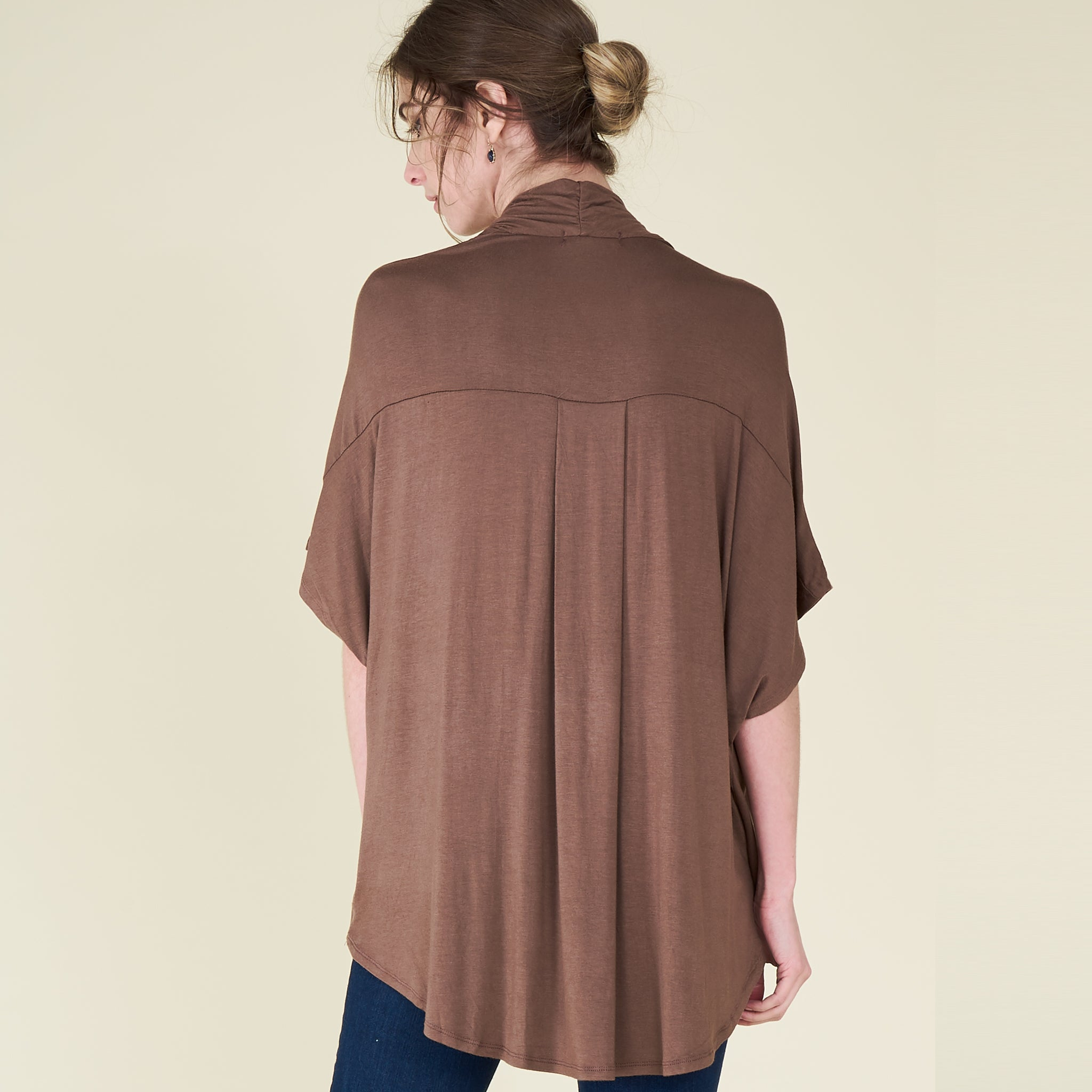 The Oversized Drape Top - Love, Kuza