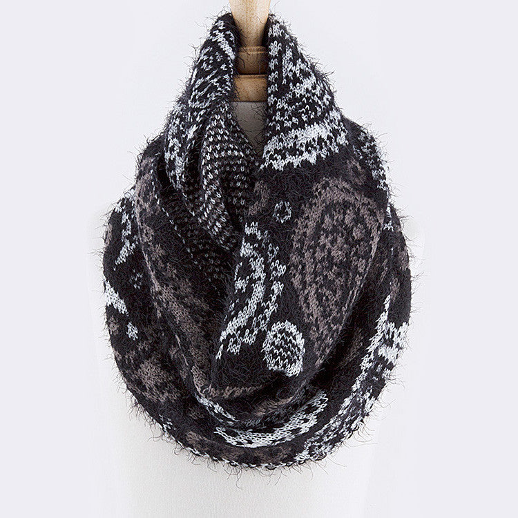 This Is Paisley Infinity Scarf