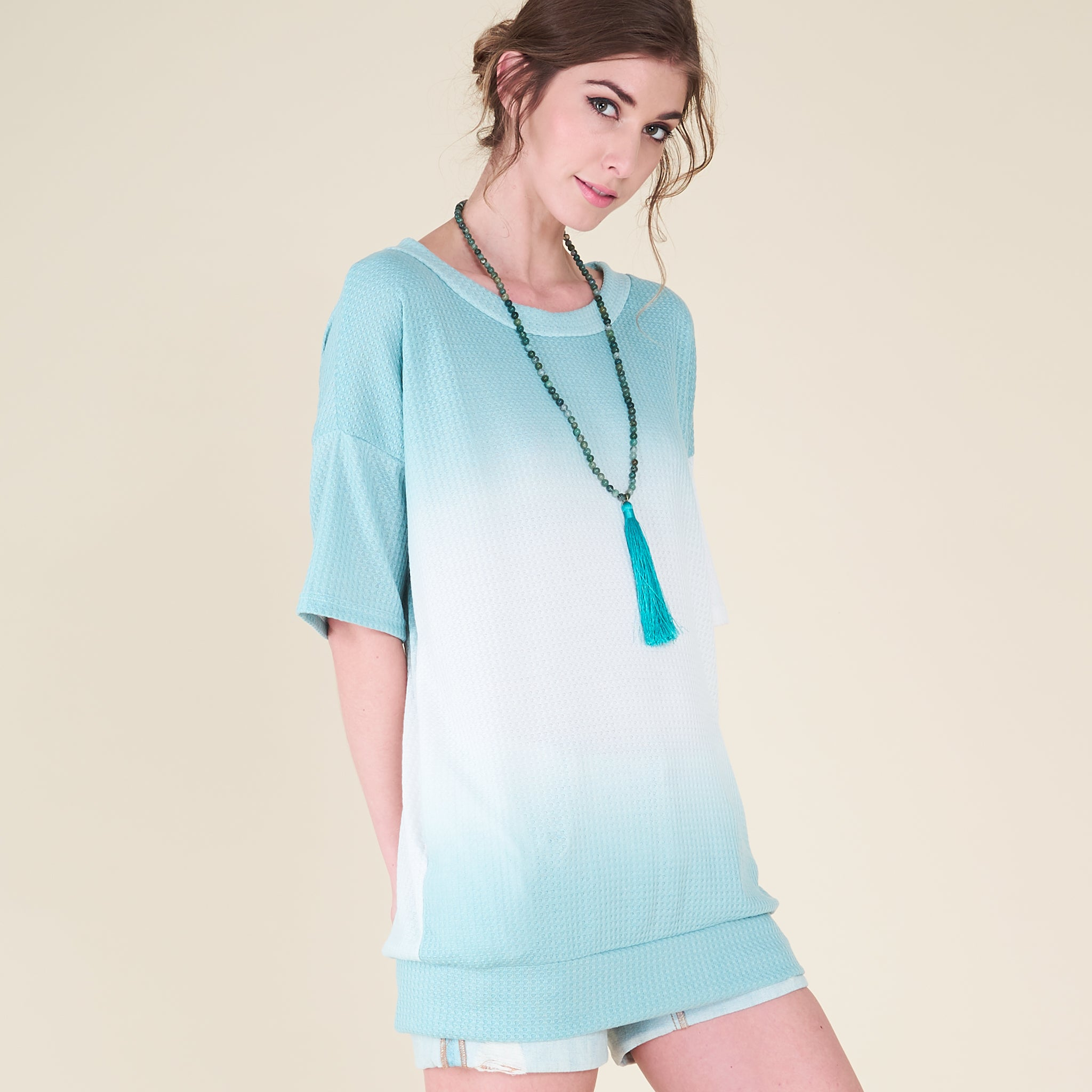 Ombre Thermal Pocket Tunic