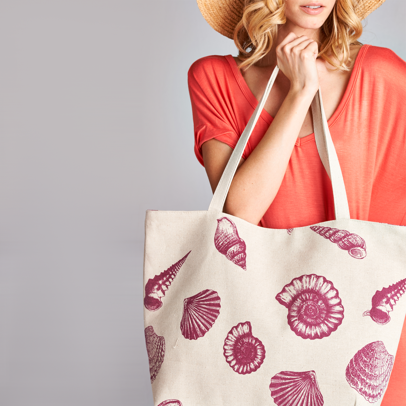 Sally's Seashell Day Bag