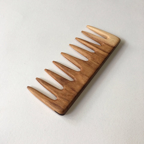 Hickory Wide Tooth Comb