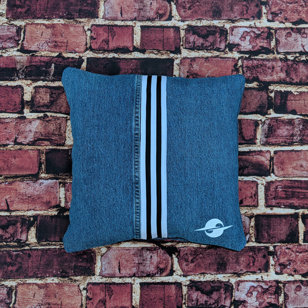 FW19 3-STRIPE SQUARE PILLOW