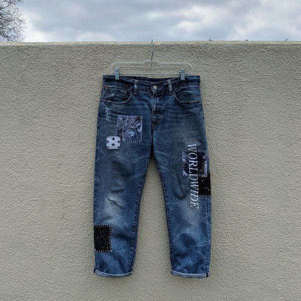 NS21 EARTH PATCH JEANS