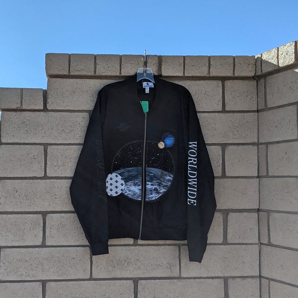NS21 EARTH PATCH BOMBER JACKET