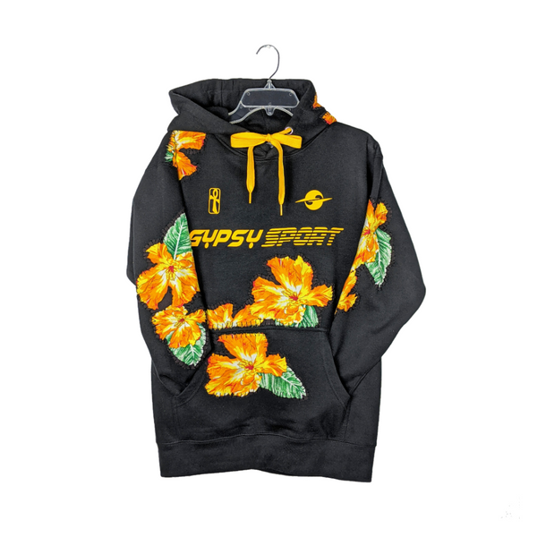 DS20 HIBISCUS LOGO HOODIE