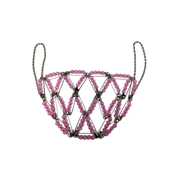 FF20 BEADED CHAIN MASK