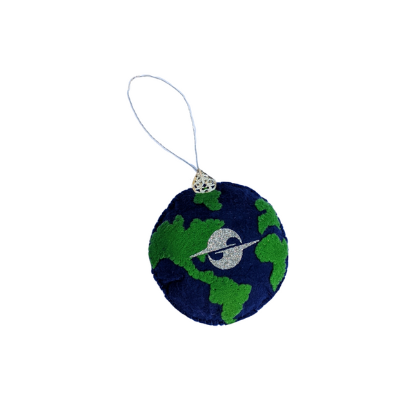HOLIDAY 2020 PLUSH EARTH ORNAMENT