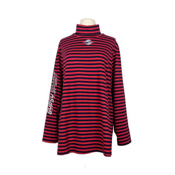 SS21 STRIPED L/S TURTLENECK
